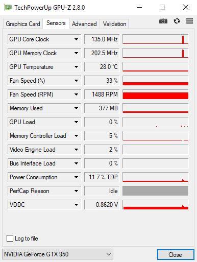 Данные о компонентах компьютера в программе TechPowerUp GPU-Z