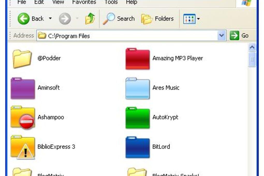 Интерфейс MyFolder