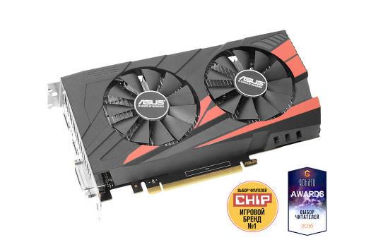 Видеокарта Asus GeForce GTX 1050 Ti