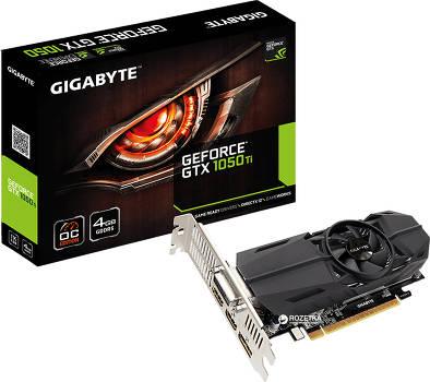 Игровая видеокарта Gigabyte GeForce GTX 1050 Ti