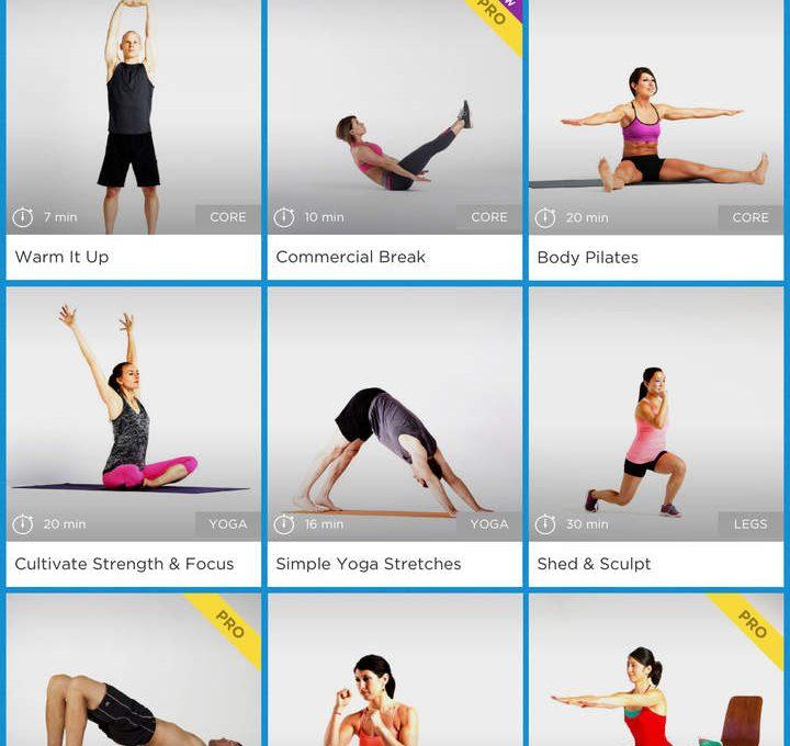 Фитнес-приложение Workout Trainer