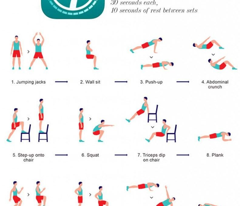 Приложение 7 Minute Workout