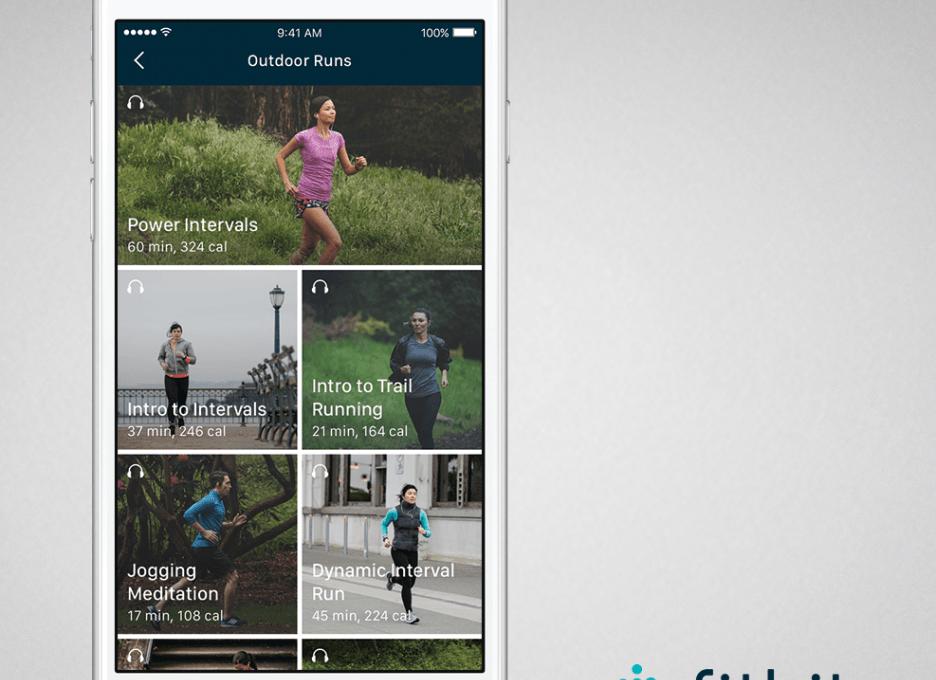 Фитнес-приложение Fitbit Coach