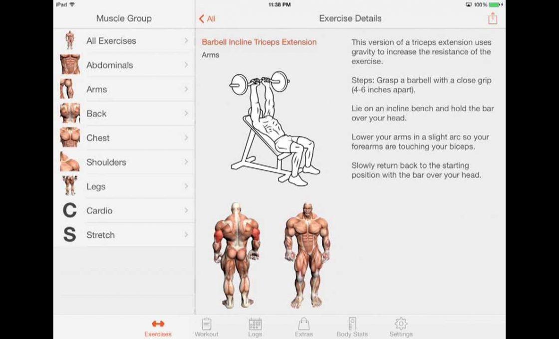Приложение Fitness Point