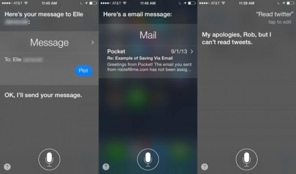 Голсовой помощник Siri