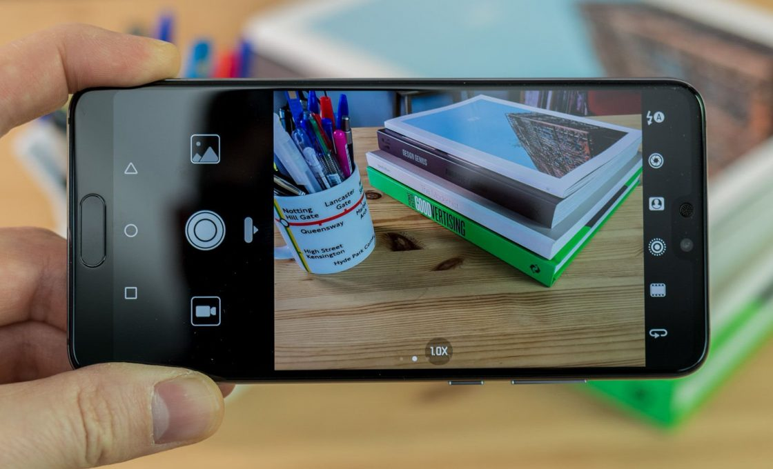 Пример работы камеры Huawei P20