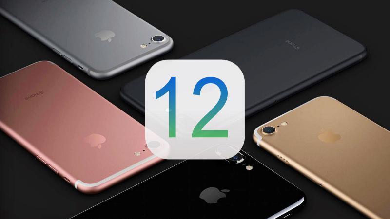 Сравнение11 и 12 версии iOS