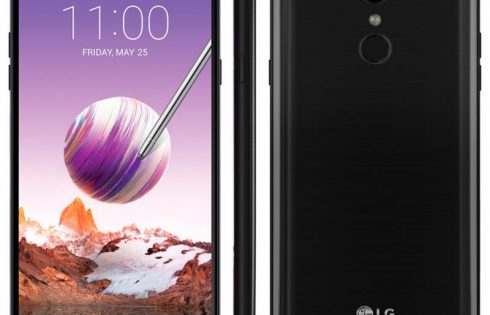 Смартфон LG Stylo 4 поддерживает работу со стилусом