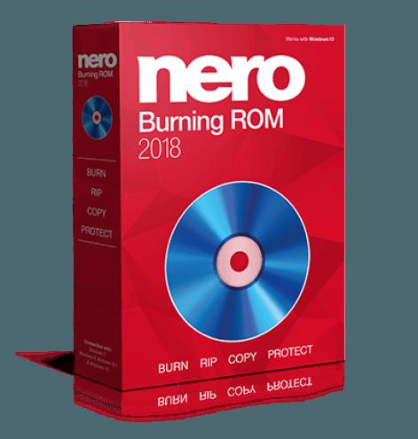 Коробочная версия программы Nero
