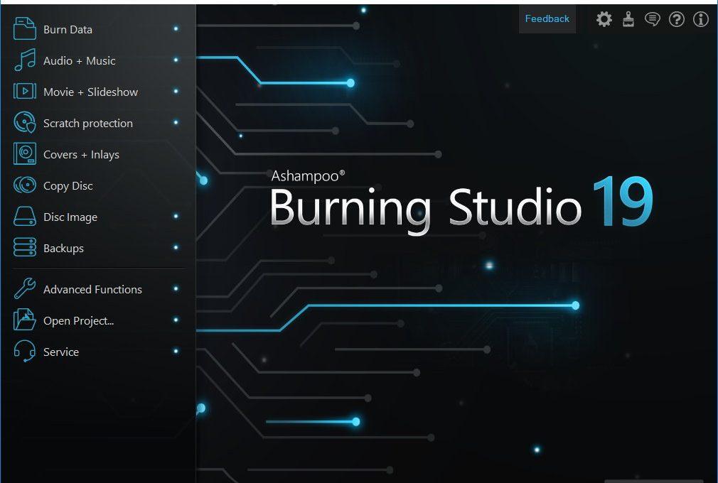 Расширенная платная версия Ashampoo Burning Studio
