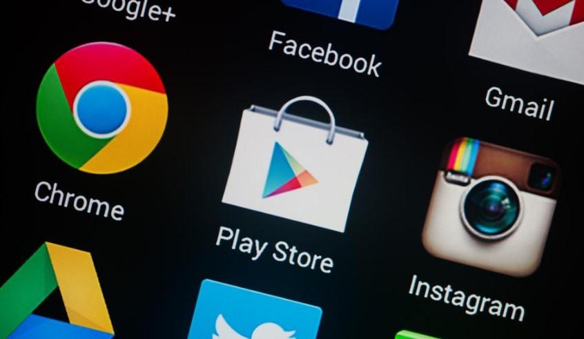 Иконки приложений на смартфоне