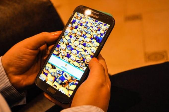 Игровое приложение на смартфоне