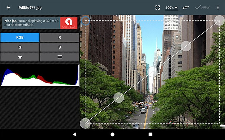 Приложение для обработки фото на Андроид Photo Editor