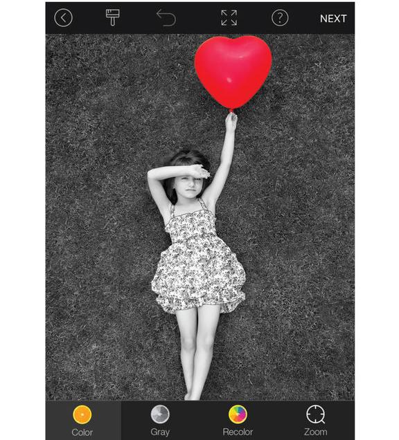 Приложение Color Pop для обработки фото на iPhone
