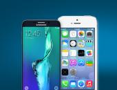 Смартфоны Samsung и Apple