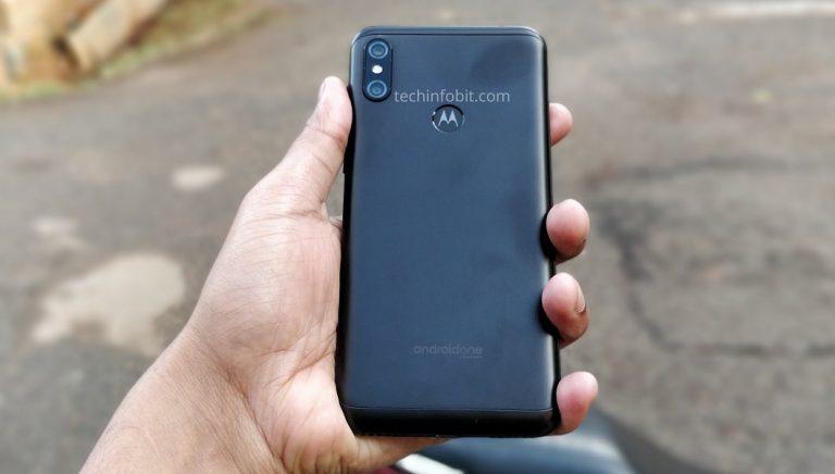 Задняя крышка Motorola One Power