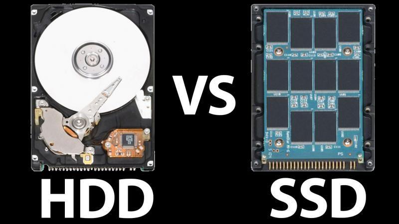 Что лучше—SSD или HDD?
