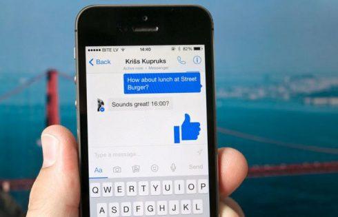 Facebook Messenger защитит пользователей от мошенников