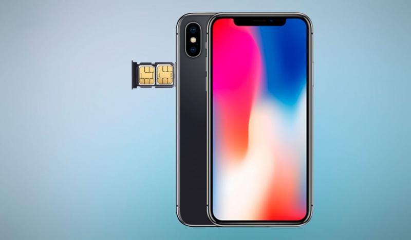 Новые iPhone получат слот на две SIM-карты