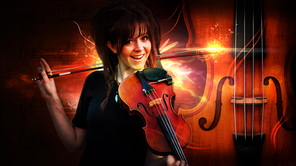Скрипачка Lindsey Stirling