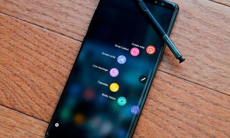Распаковку Samsung Galaxy Note 9 сняли на видео