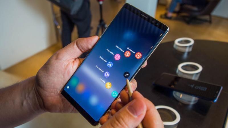 Стала известна стоимость фаблета Samsung Galaxy Note 9