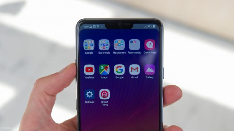 Рендеры LG V40 ThinQ подтвердили наличие у смартфона пяти камер