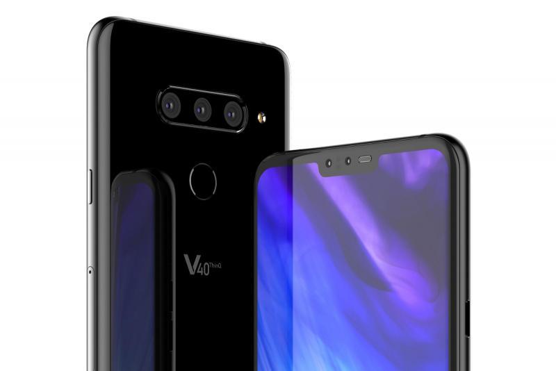 Опубликованы новые изображения смартфона LG V40 ThinQ