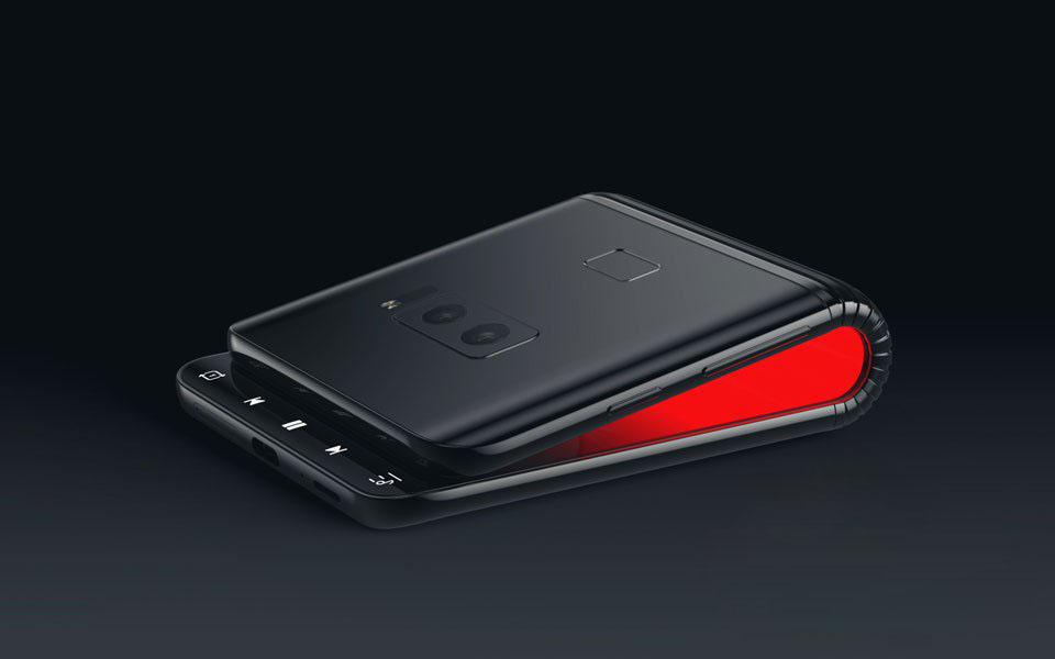 Смартфон Samsung с гибким экраном