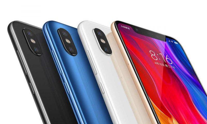 Стали известны российские цены на Xiaomi Mi 8 и Redmi 6A