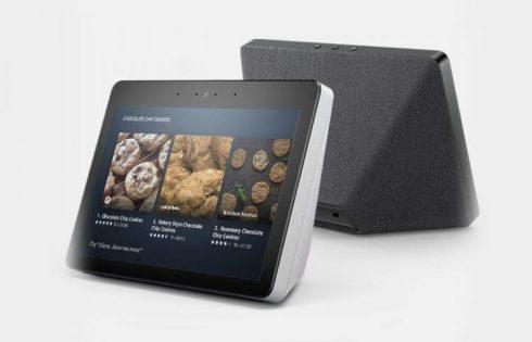 Amazon представила «умную» колонку Echo Show второго поколения