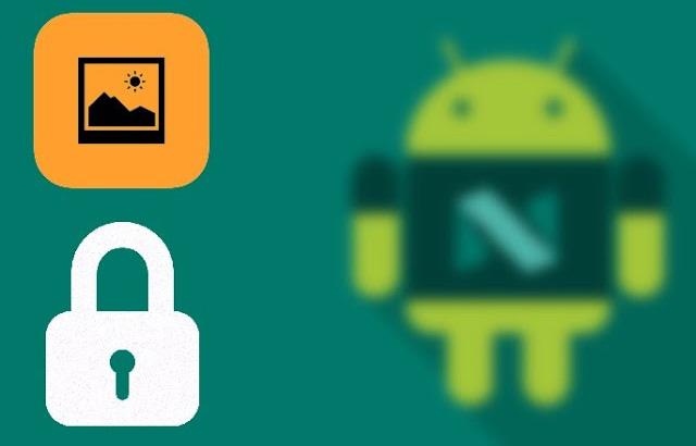 Блокировка галереи на Андроиде