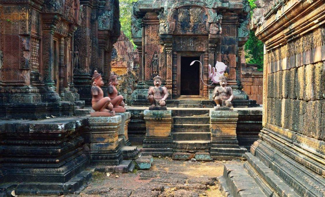 Покемон Mew в Камбодже