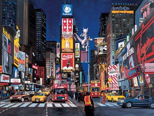 Локация покемона Mewtwo в Нью-Йорке