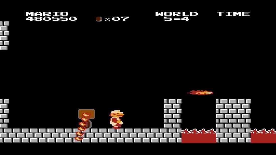 Игра Super Mario