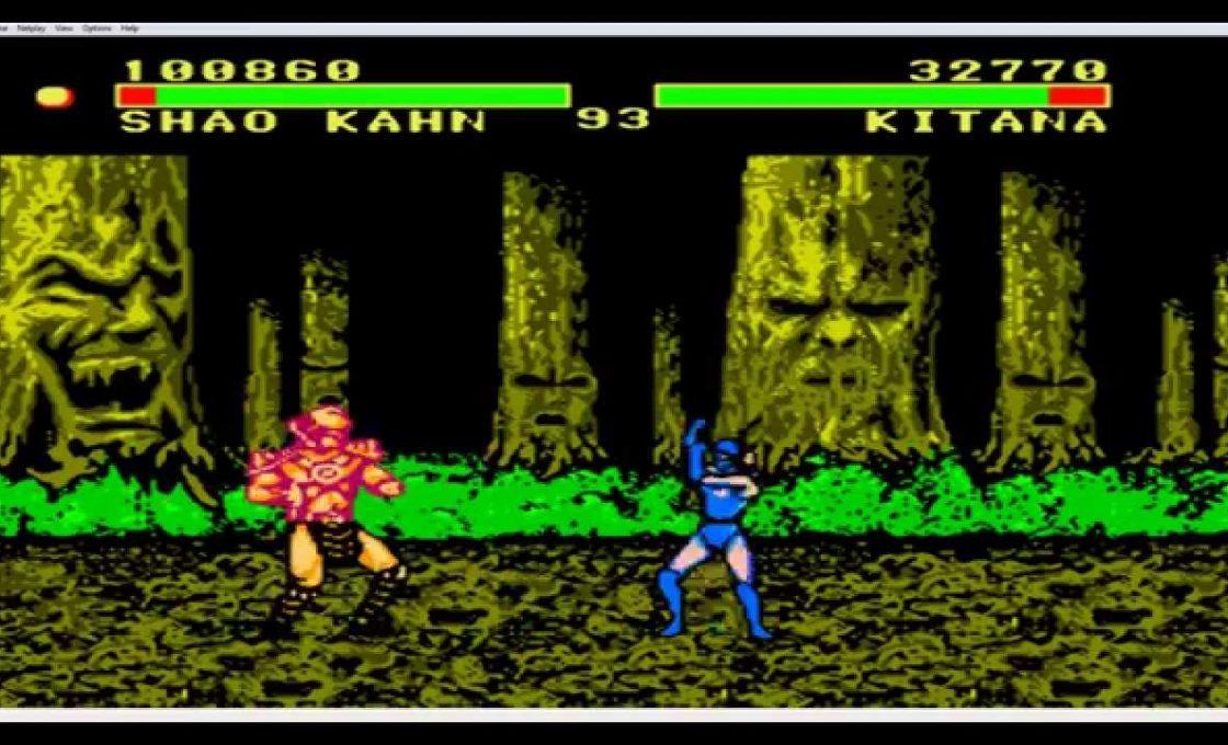 Игра Денди Mortal Kombat