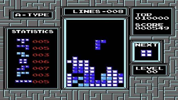Игра Денди Tetris