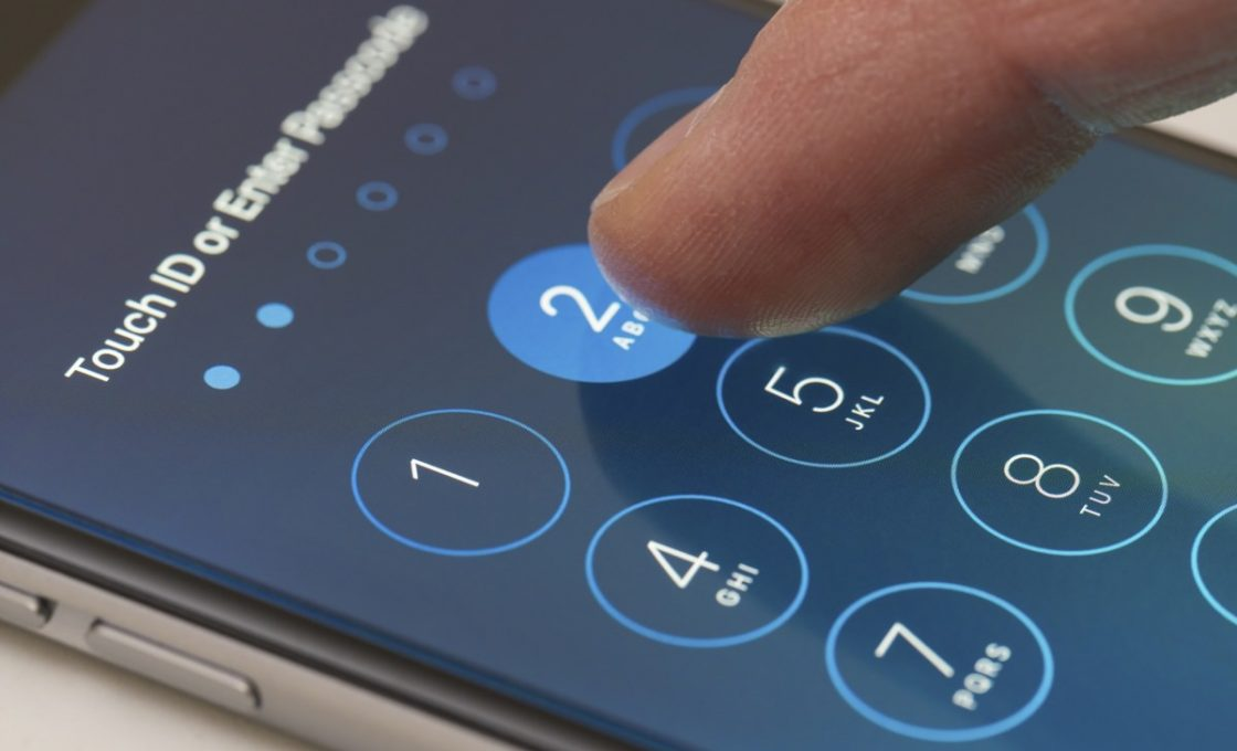 Установка пароля на смартфоне