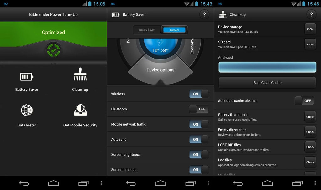 Скриншот Bitdefender Mobile Security & Antivirus