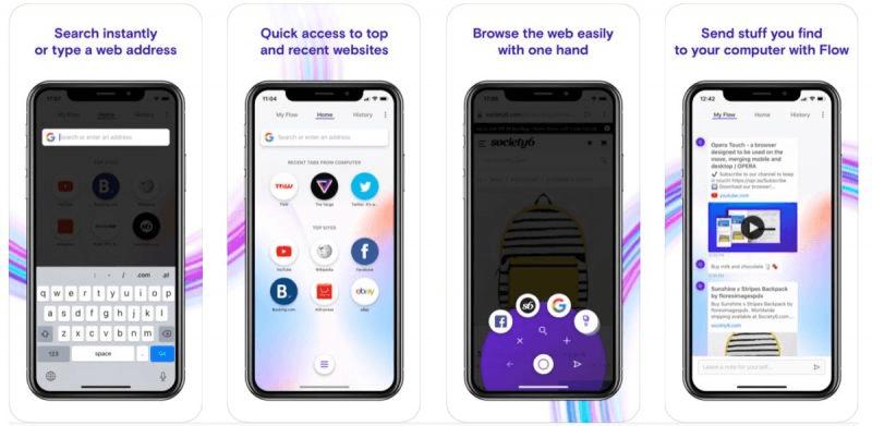 Opera Touch для iOS