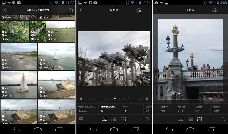 Приложение на обработки фотографий Photoshop Lightroom