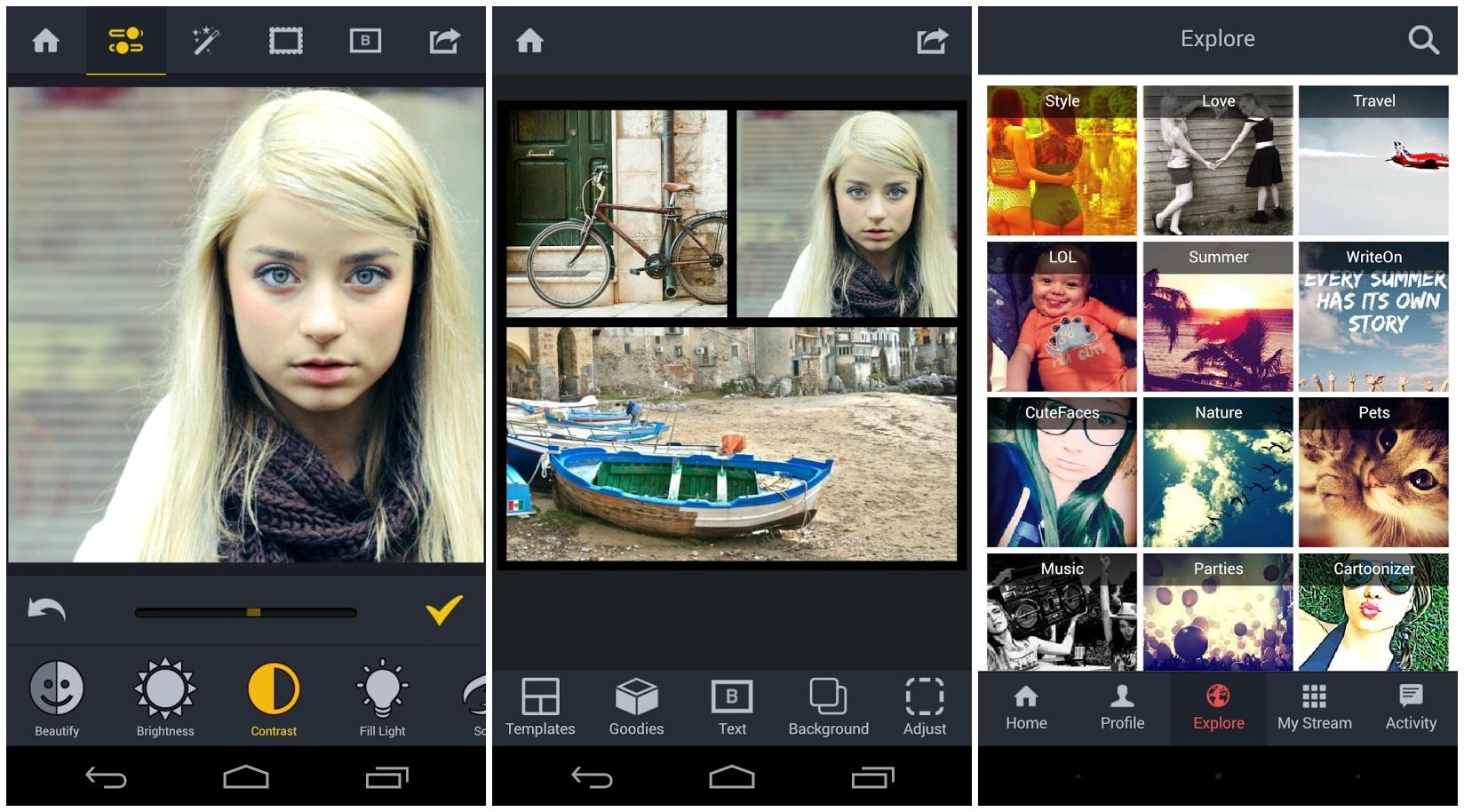 как можно редактировать фотографии на телефоне
