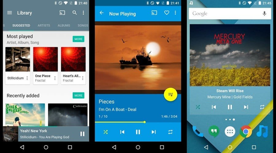 Приложение Shuttle Music Player