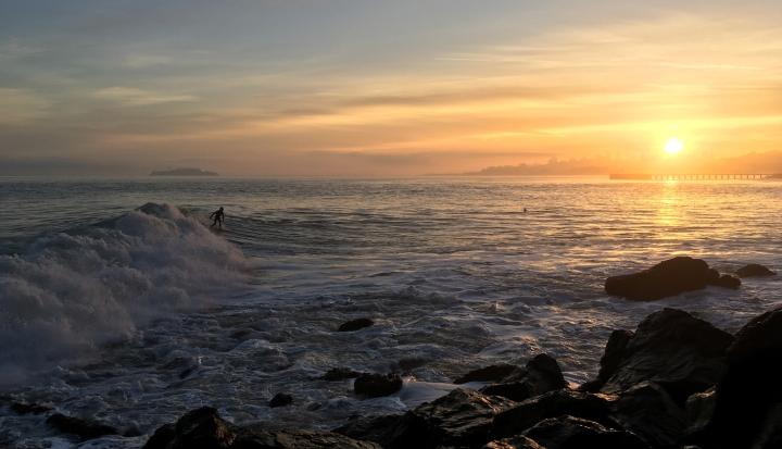 Пример фото пейзажа, снятого на первую версию iPhone SE