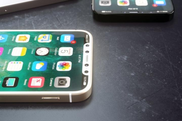 Верхняя панель iPhone SE 2