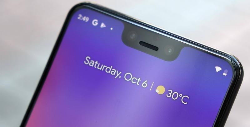 В экране смартфона Google Pixel 3 XL обнаружилась вторая «бровь»