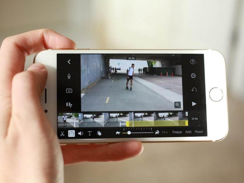 Съёмка Slow Motion видео на iPhone