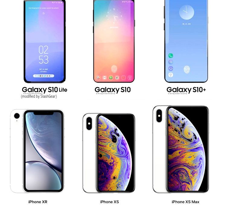 Три версии Samsung Galaxy S10