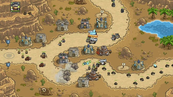 Игра Kingdom Rush Vengeance