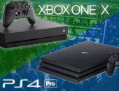 Xbox One X и PS4 Pro